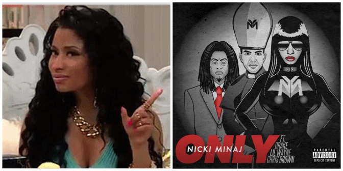 "Nicki Minaj ""Only"" (featuring Drake, Lil Wayne & Chris Brown) [Single Premiere]"